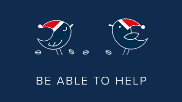 Helping gives you wings — BE ABLE TO HELP