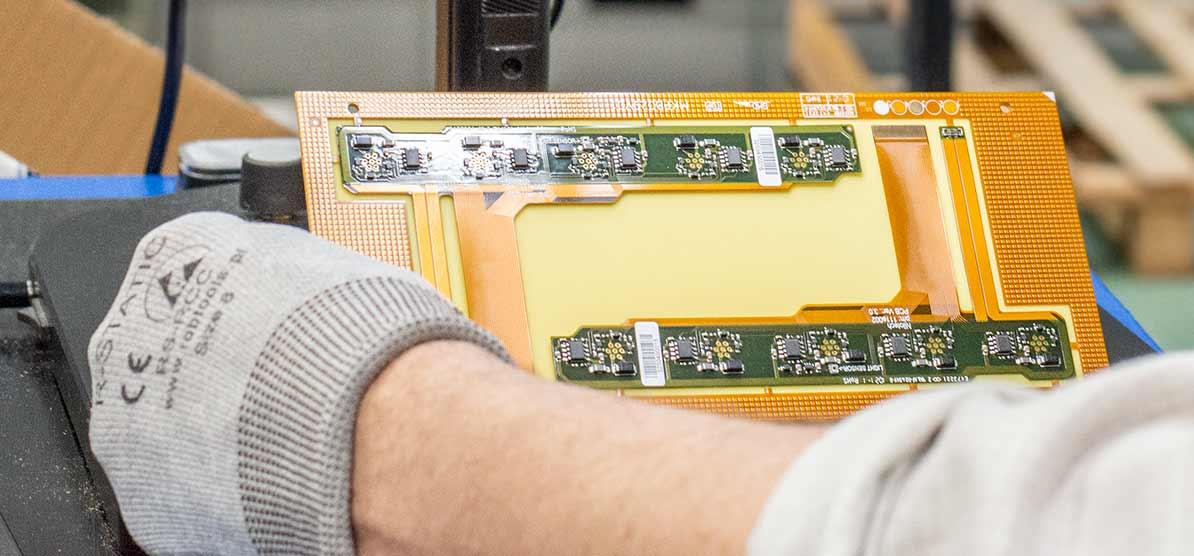 rigid-flex PCB prototype