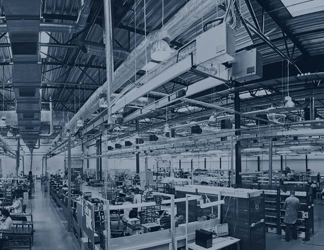 electronic devices manufacturing plant